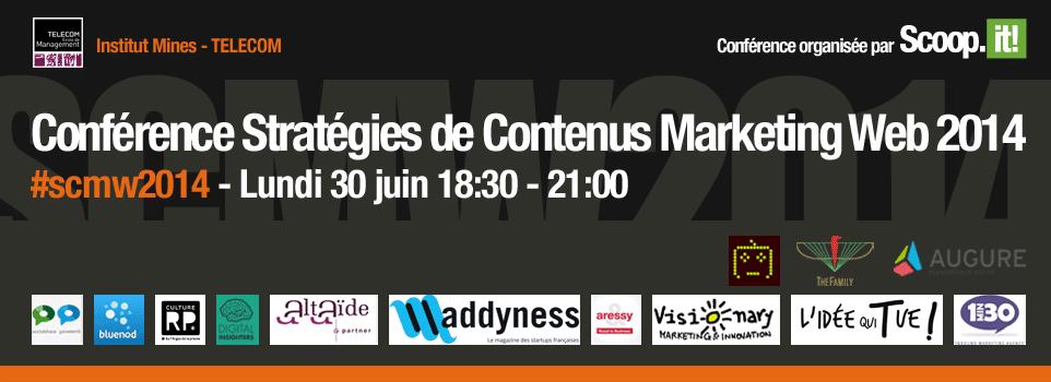 Stratégies de contenus : retour sur la conférence #SCMW2014