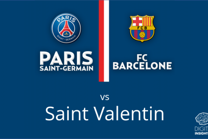 Le foot plus fort que l'amour ? PSG-Barça a battu la Saint Valentin