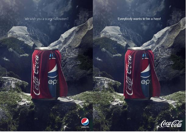 Coca + Pespi Halloween